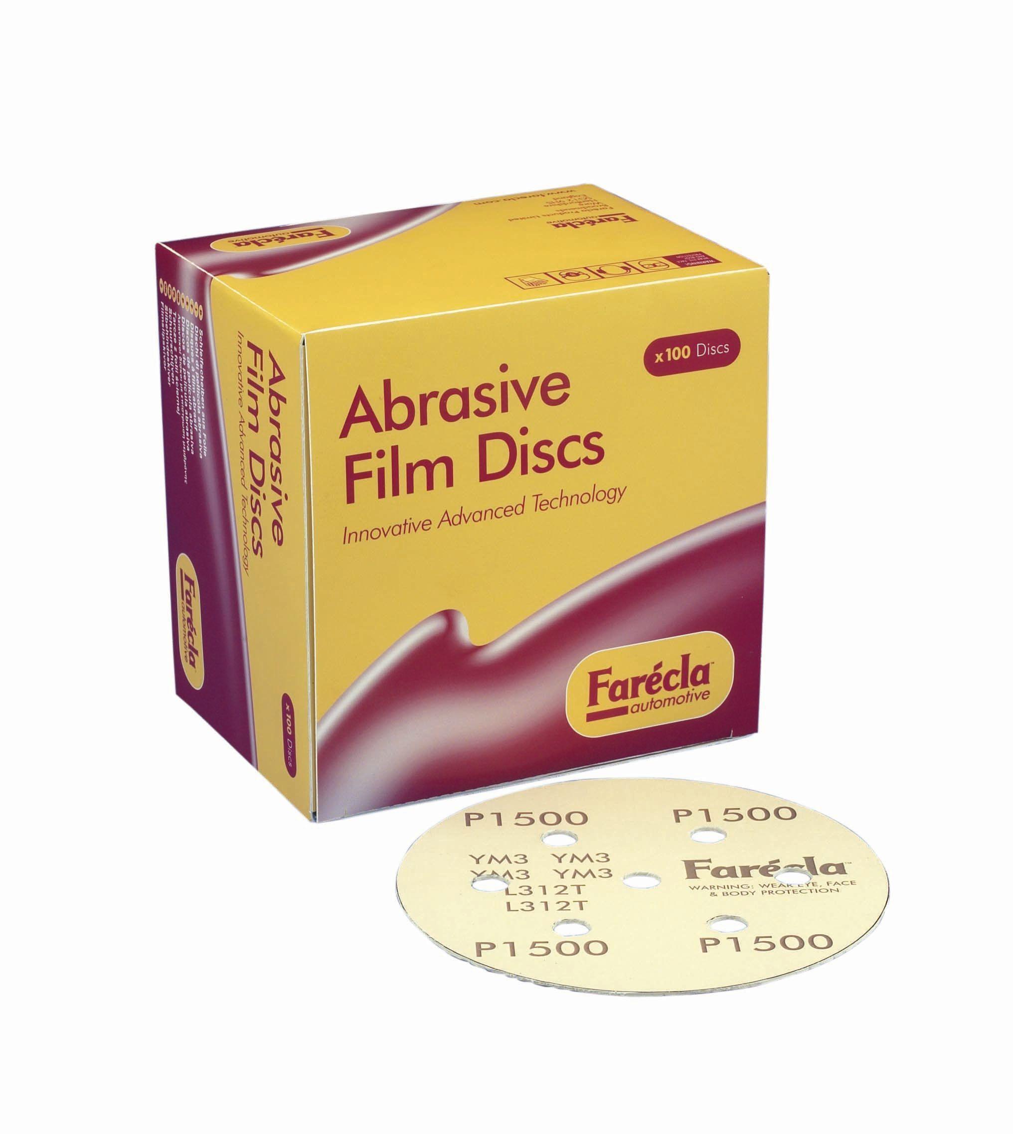 Farecla Abrasive Film Discs