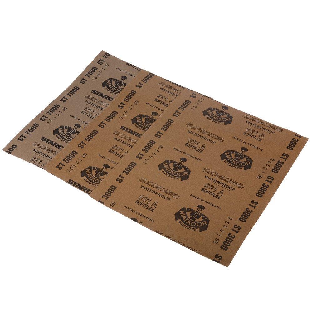 Dry Sanding Abrasives sheets For Wood