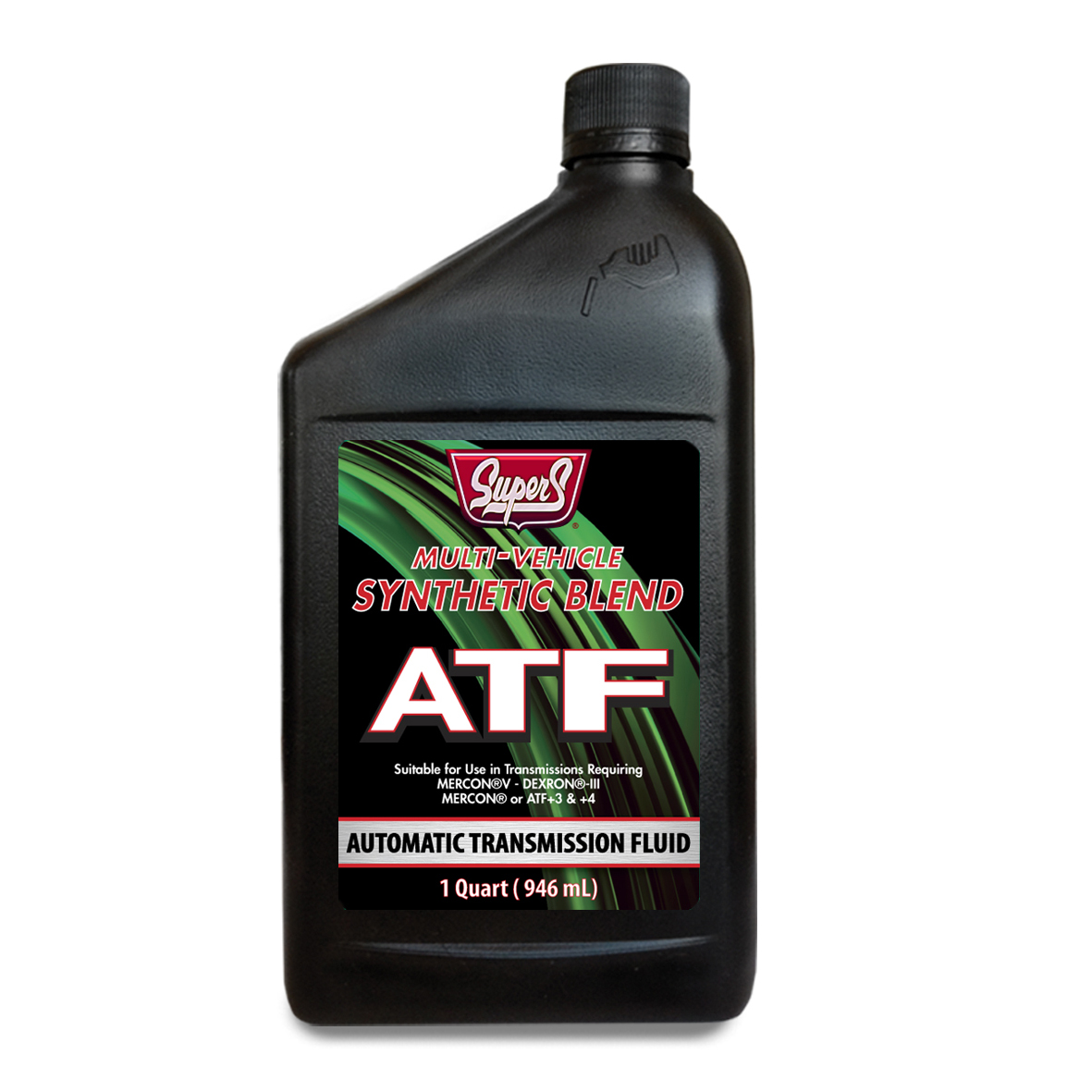 SUPER S SEMI-SYNTHETIC MULTI-VEHICLE AUTOMATIC TRANSMISSION FLUID